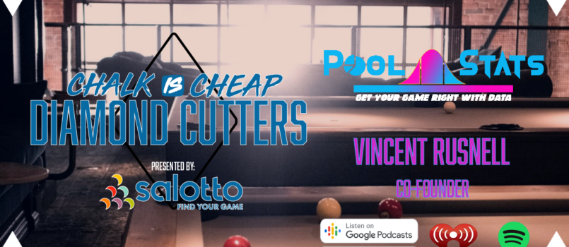 Chalk is Cheap Interviews Vincent Rusnell of Pool Stats
